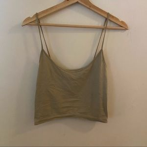 🌹4/16🌹Juicy couture stretchy cropped tank top